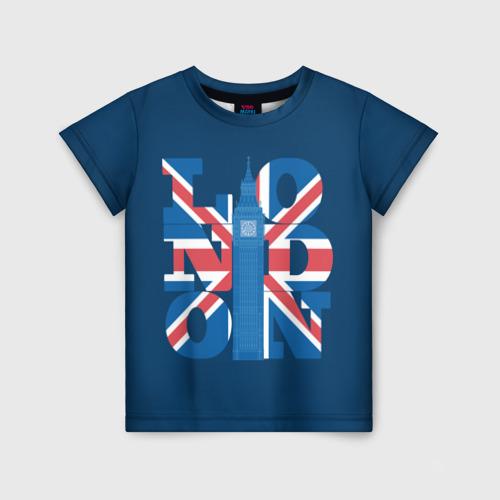 Детская футболка 3D London