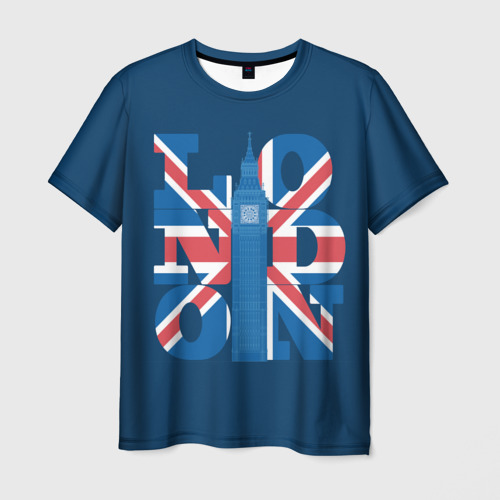 Мужская футболка 3D London