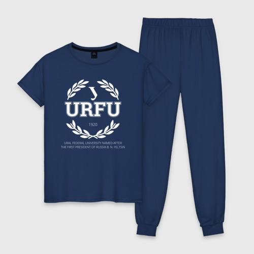 Женская пижама хлопок URFU