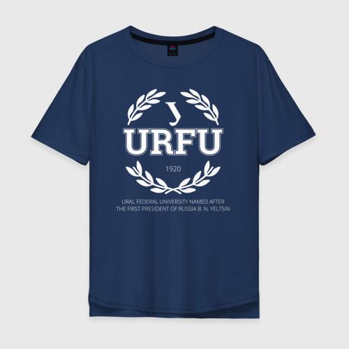 Мужская футболка хлопок Oversize URFU