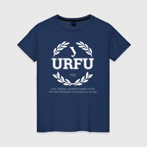 Женская футболка хлопок URFU