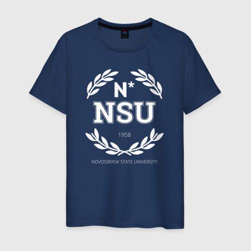 Мужская футболка хлопок NSU