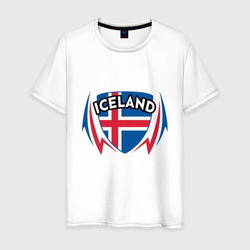 Мужская футболка хлопок Исландия