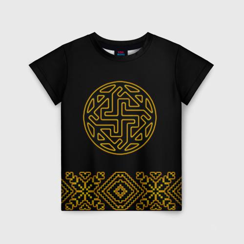 Детская футболка 3D символ валькирии