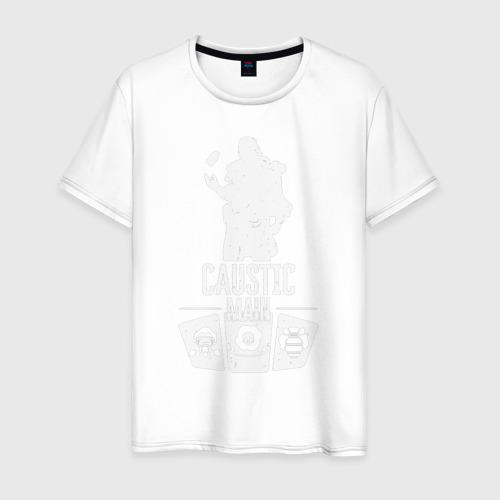 Мужская футболка хлопок Apex Legends - Caustic main