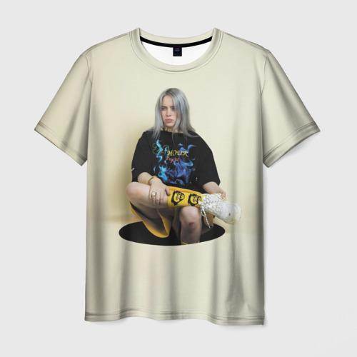 Мужская футболка 3D Hole