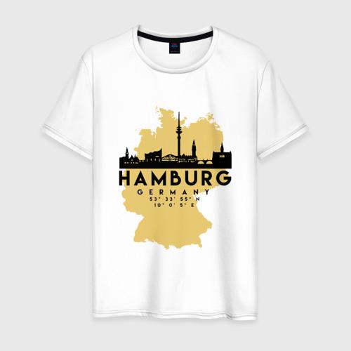 Мужская футболка хлопок Гамбург - Германия