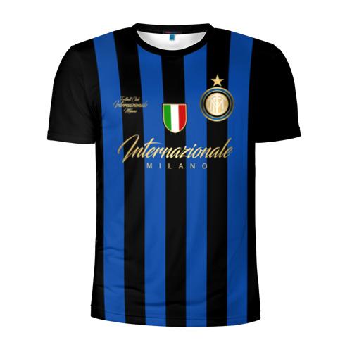 Мужская футболка 3D спортивная Интер Милан