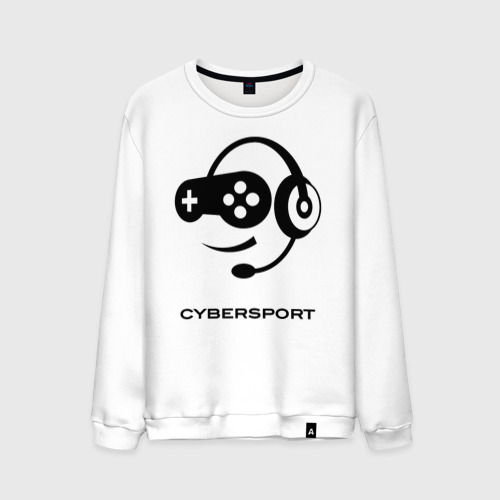 Мужской свитшот хлопок CYBERSPORT