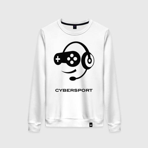Женский свитшот хлопок CYBERSPORT
