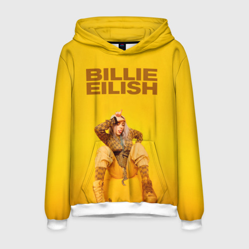 Мужская толстовка 3D Billie Eilish