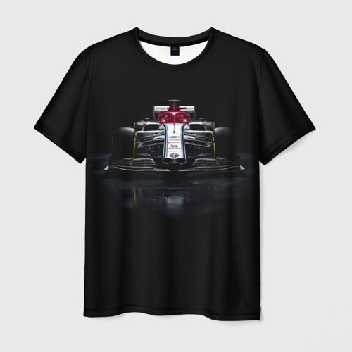 Мужская футболка 3D Болид F1