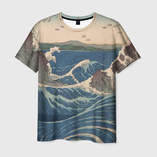 Мужская футболка 3D Водовороты Наруто