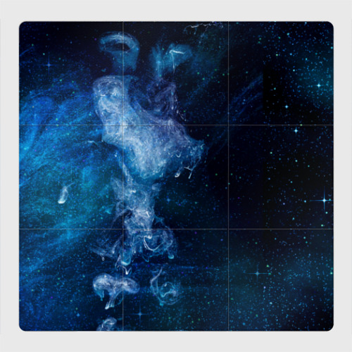 Магнитный плакат 3Х3 Синий космос
