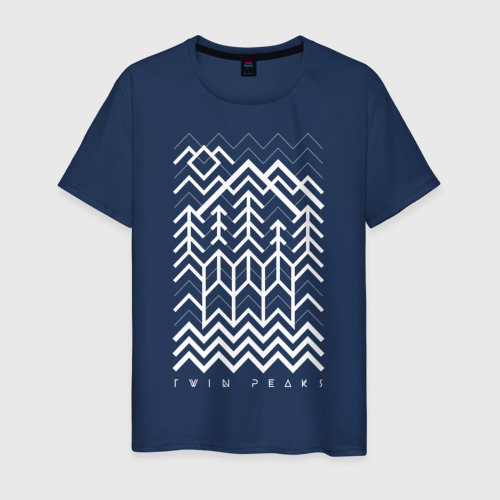 Мужская футболка хлопок Твин Пикс