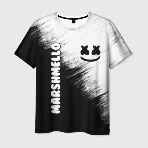 Мужская футболка 3D Marshmello 3