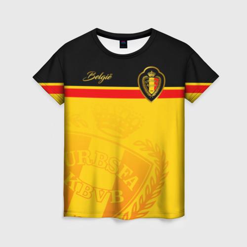 Женская футболка 3D Бельгия