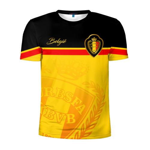 Мужская футболка 3D спортивная Бельгия