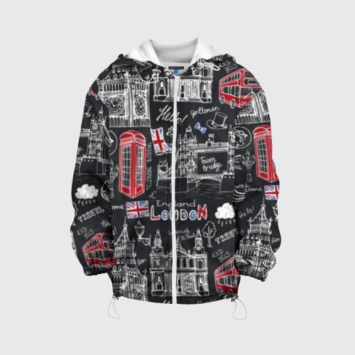 Детская куртка 3D Лондон