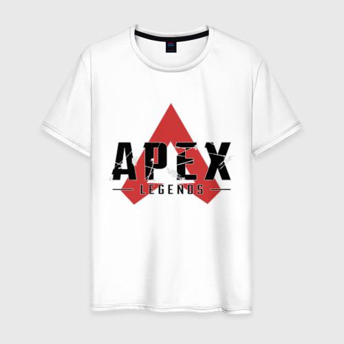 Мужская футболка хлопок Apex Legends Logo