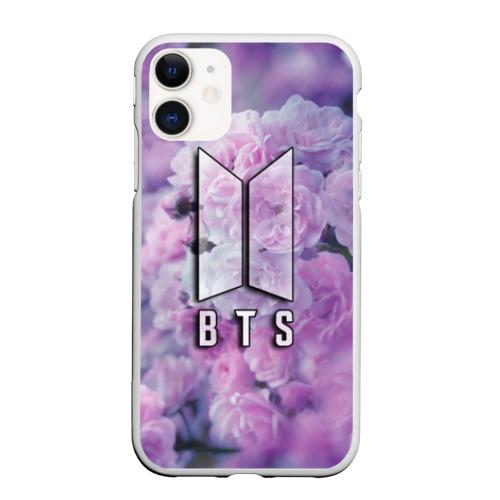 Чехол для iPhone 11 матовый BTS
