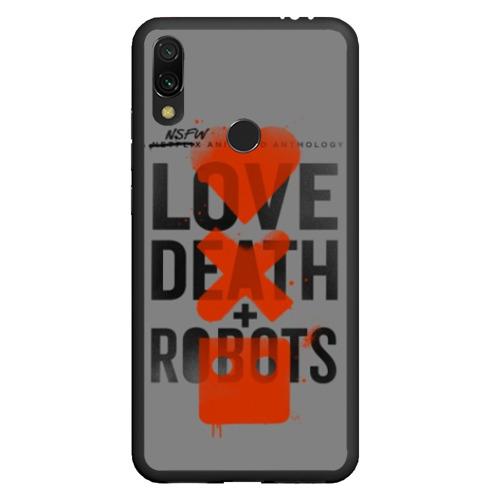 Чехол для Xiaomi Redmi Note 7 LoveD+R