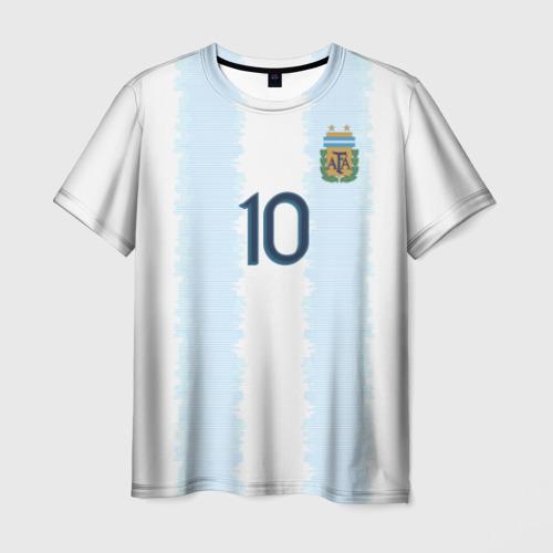 Мужская футболка 3D Messi Copa America 2019