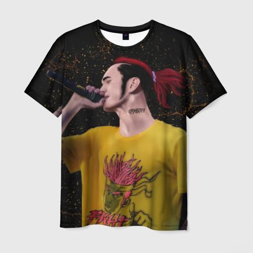 Мужская футболка 3D Gone.Fludd (art) 3