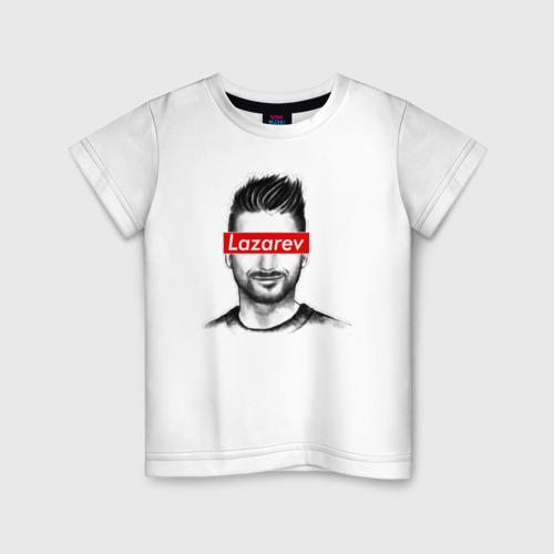 Детская футболка хлопок Сергей Лазарев