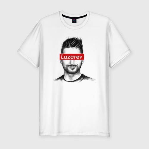 Мужская футболка хлопок Slim Сергей Лазарев