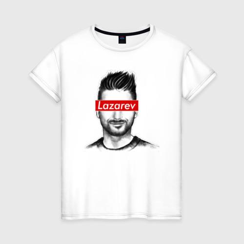 Женская футболка хлопок Сергей Лазарев