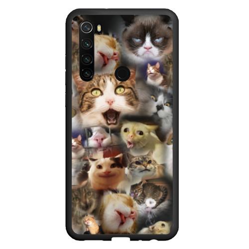 Чехол для Xiaomi Redmi Note 8 Те самые коты