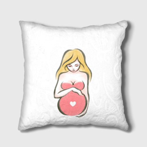 Подушка 3D Рождение новой жизни