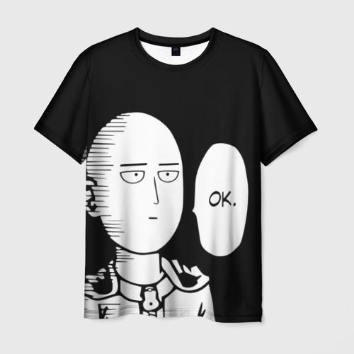 Мужская футболка 3D One Puncn Man OK