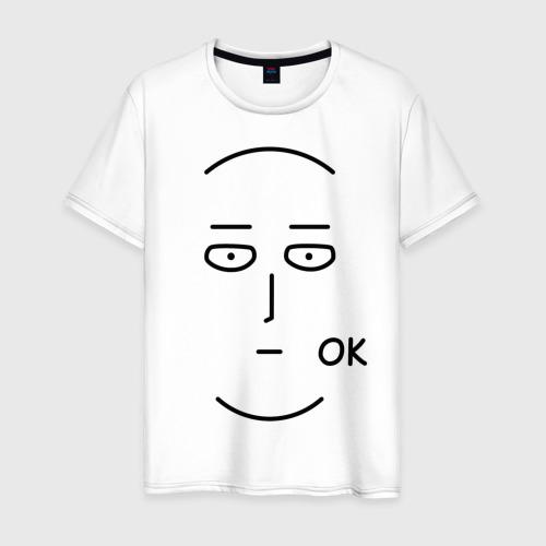 Мужская футболка хлопок Saitama OK