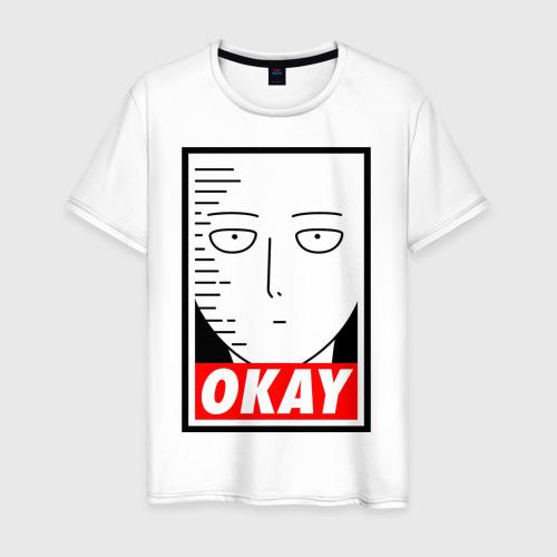 Мужская футболка хлопок OKAY SAITAMA