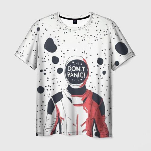 Мужская футболка 3D Без паники