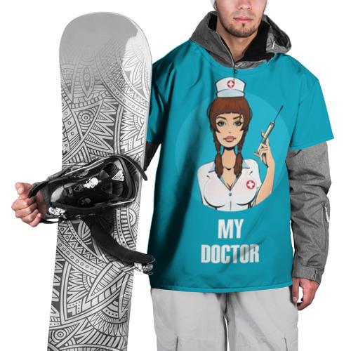 Накидка на куртку 3D My doctor