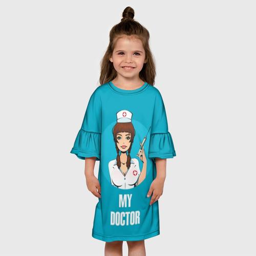 Детское платье 3D My doctor