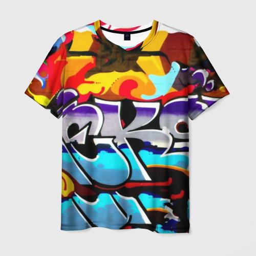 Мужская футболка 3D urban neon