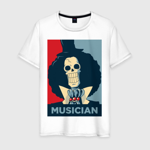 Мужская футболка хлопок SOUL KING - THE MUSICIAN