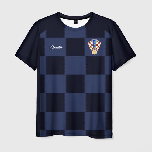 Мужская футболка 3D Сборная Хорватии