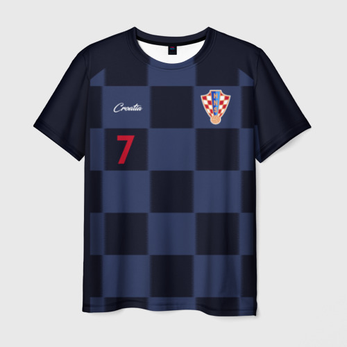 Мужская футболка 3D Иван Ракитич, Сборная Хорватии