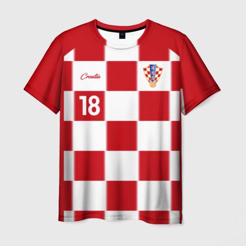 Мужская футболка 3D Анте Ребич, Сборная Хорватии