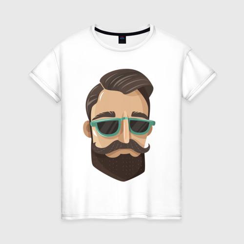 Женская футболка хлопок BARBER style Барбер стиль