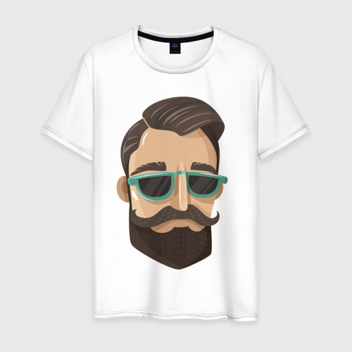 Мужская футболка хлопок BARBER style Барбер стиль