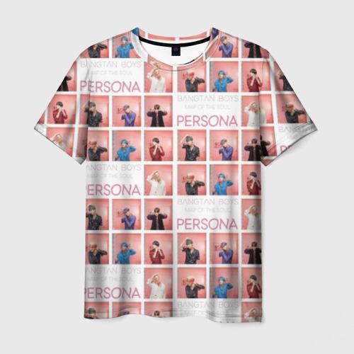 Мужская футболка 3D BTS Pop art