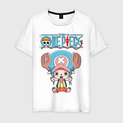 Мужская футболка хлопок tony chopper