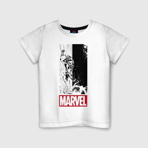 Детская футболка хлопок IRON MAN