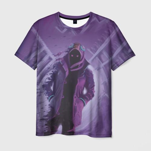 Мужская футболка 3D Purple